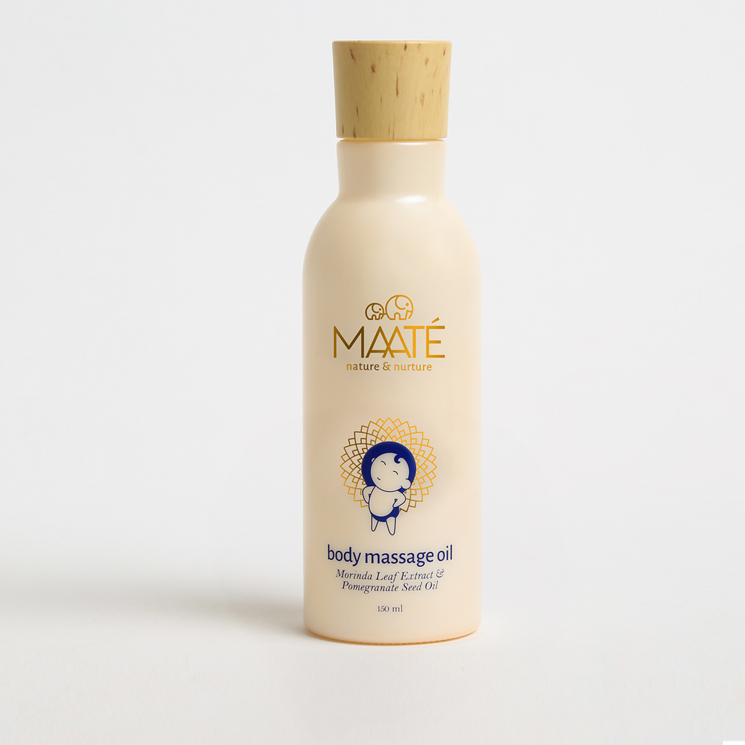 best baby massage oil from Maaté