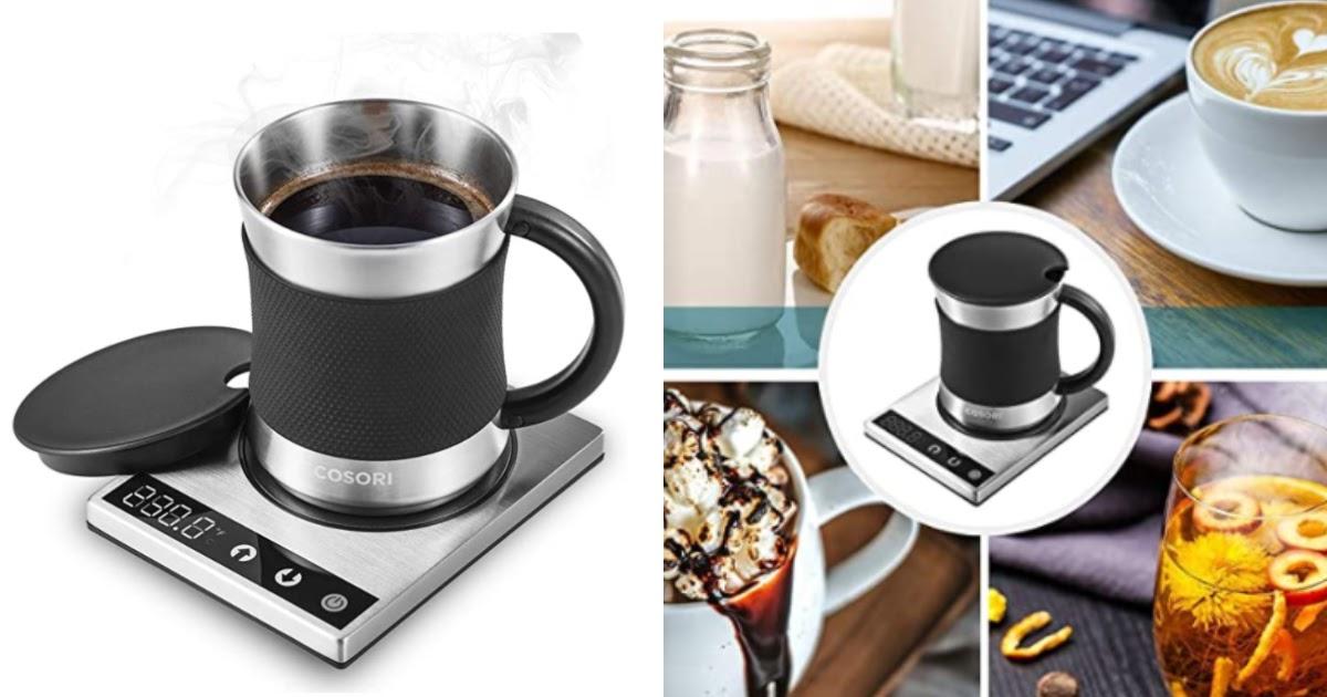 coffee mug heater set