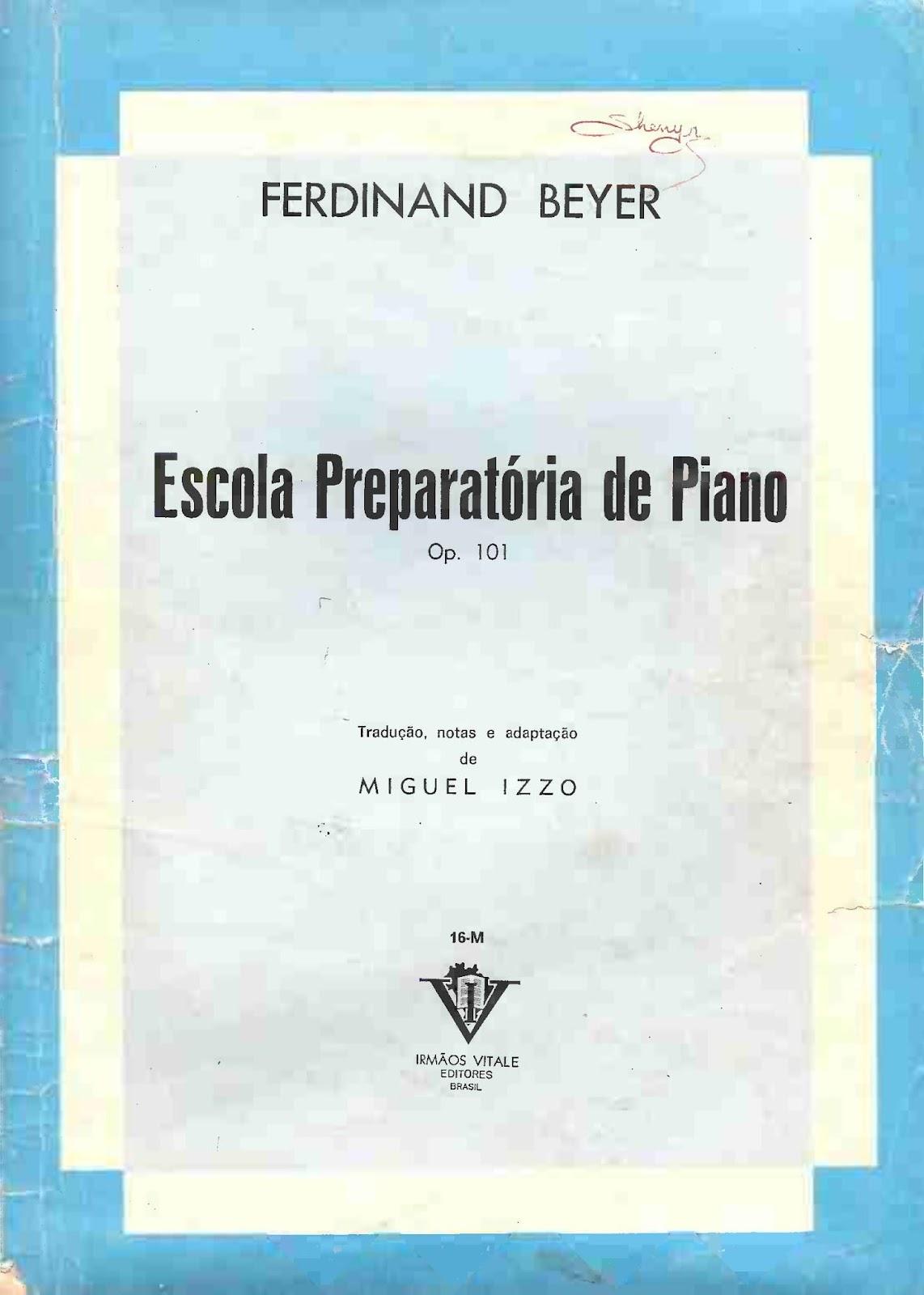 دانلود کتاب آموزش پیانو فردیناند بیر اپوس ۱۰۱