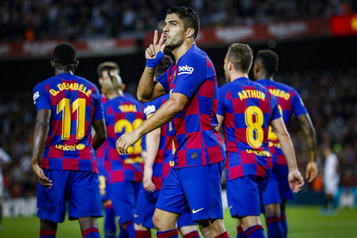 Барселона обыграла Севилью со счетом 4:0