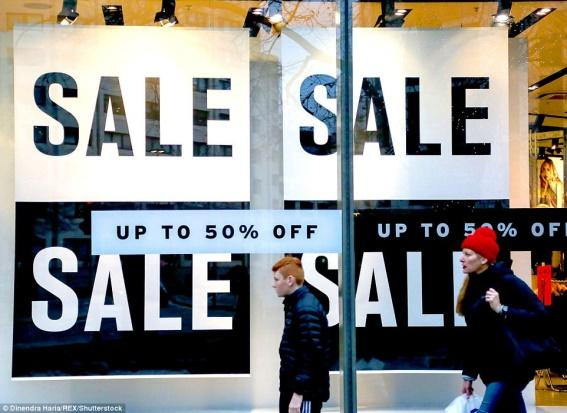 Image result for New Year Sales in Britain