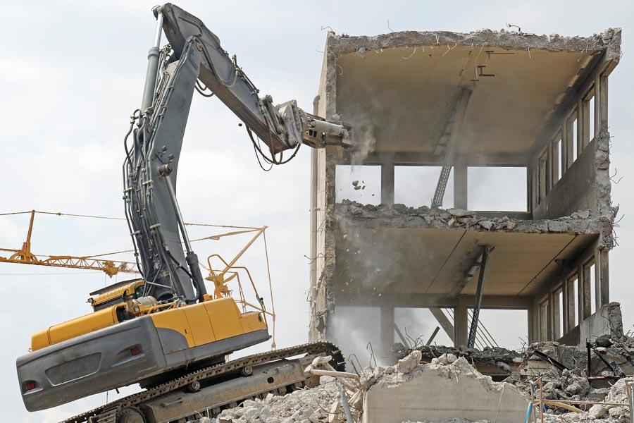 هزینه تخریب ساختمان 1