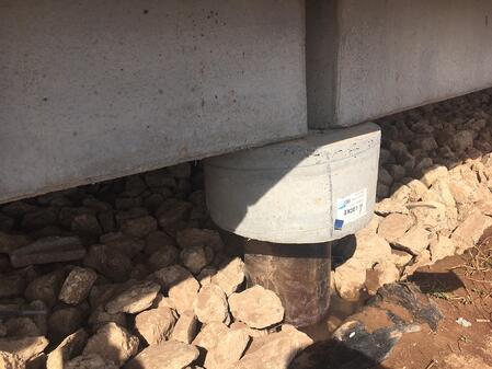 fiberglass composite piles for a deep foundation option
