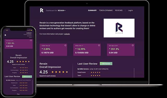 Blog Revain Crypto Review Platform Mobile and Desktop