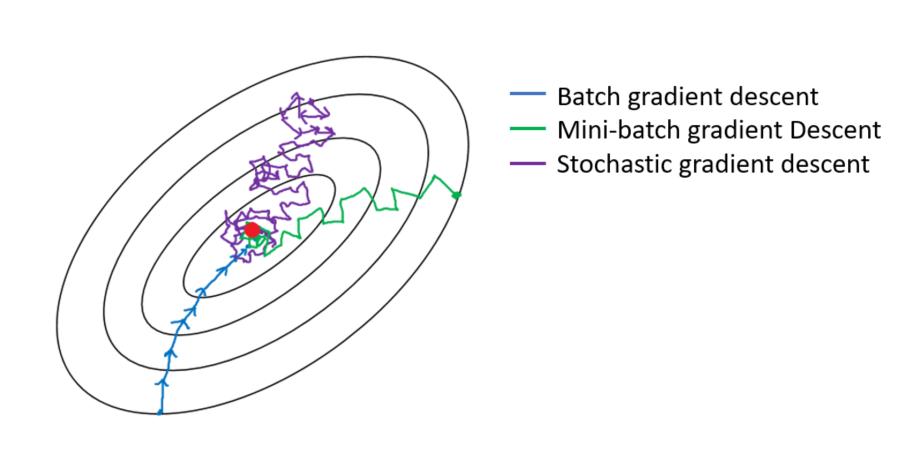 Batch Gradient, mini-batch gradient descent, and Stochastic Gradient Descent