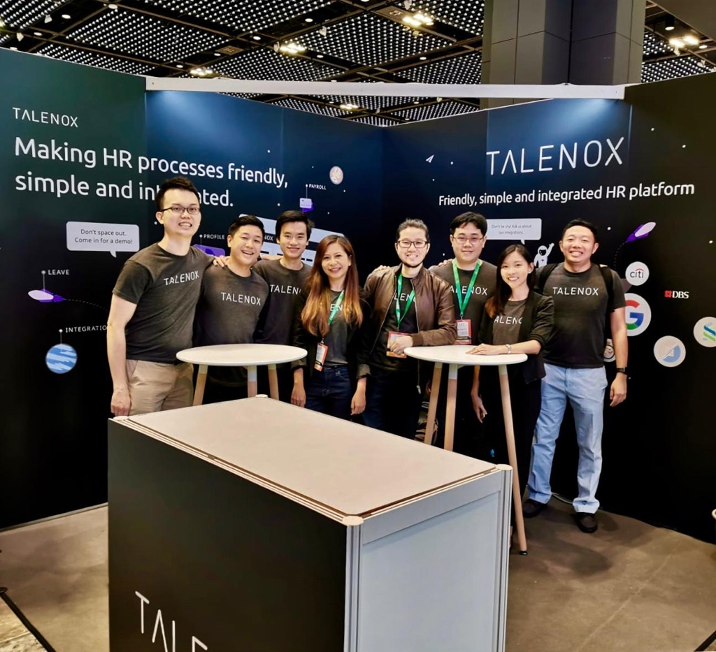 Talenox team conference group photo