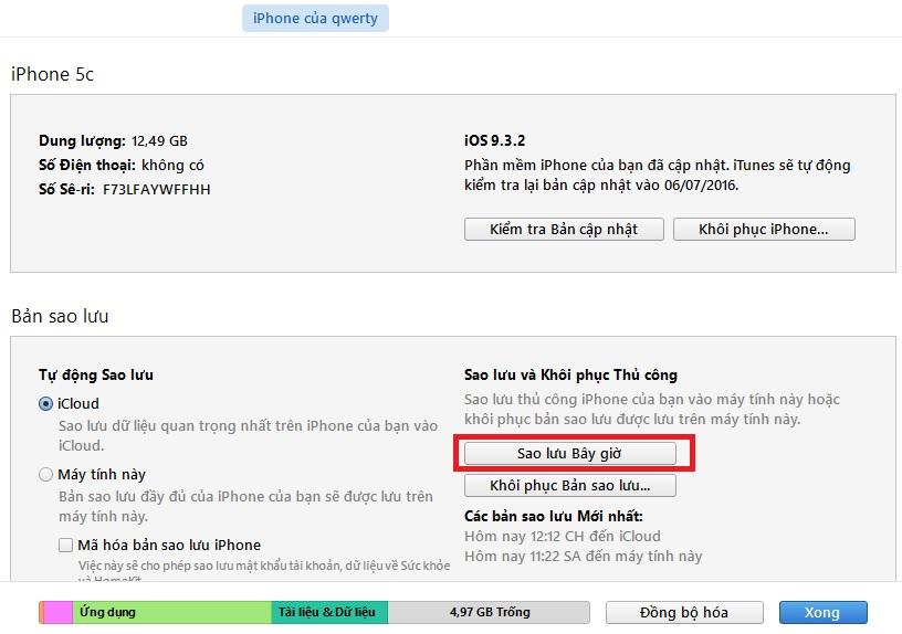 Quên mật khẩu dự phòng trên iPhone thì phải làm thế nào