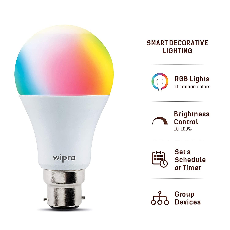 Wipro 12 Watt Smart LED Bulb