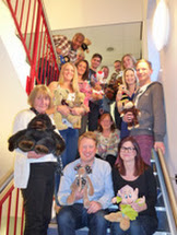 Driver Hire Staff Bear All For Children in Need