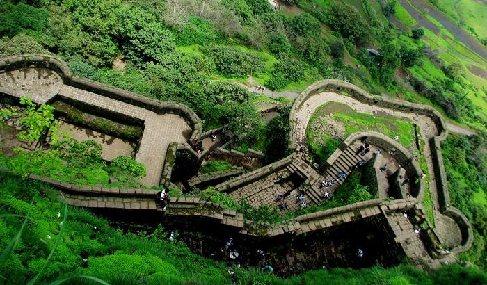 Lohagad Fort trek near Mumbai