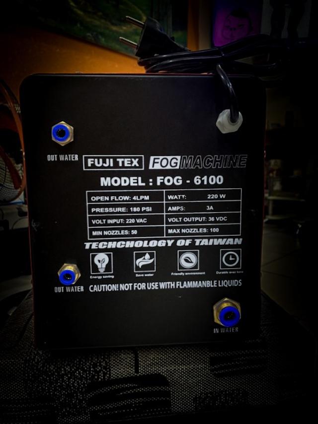 Máy phun sương FUJITEX 6100 có công suất 220W/h