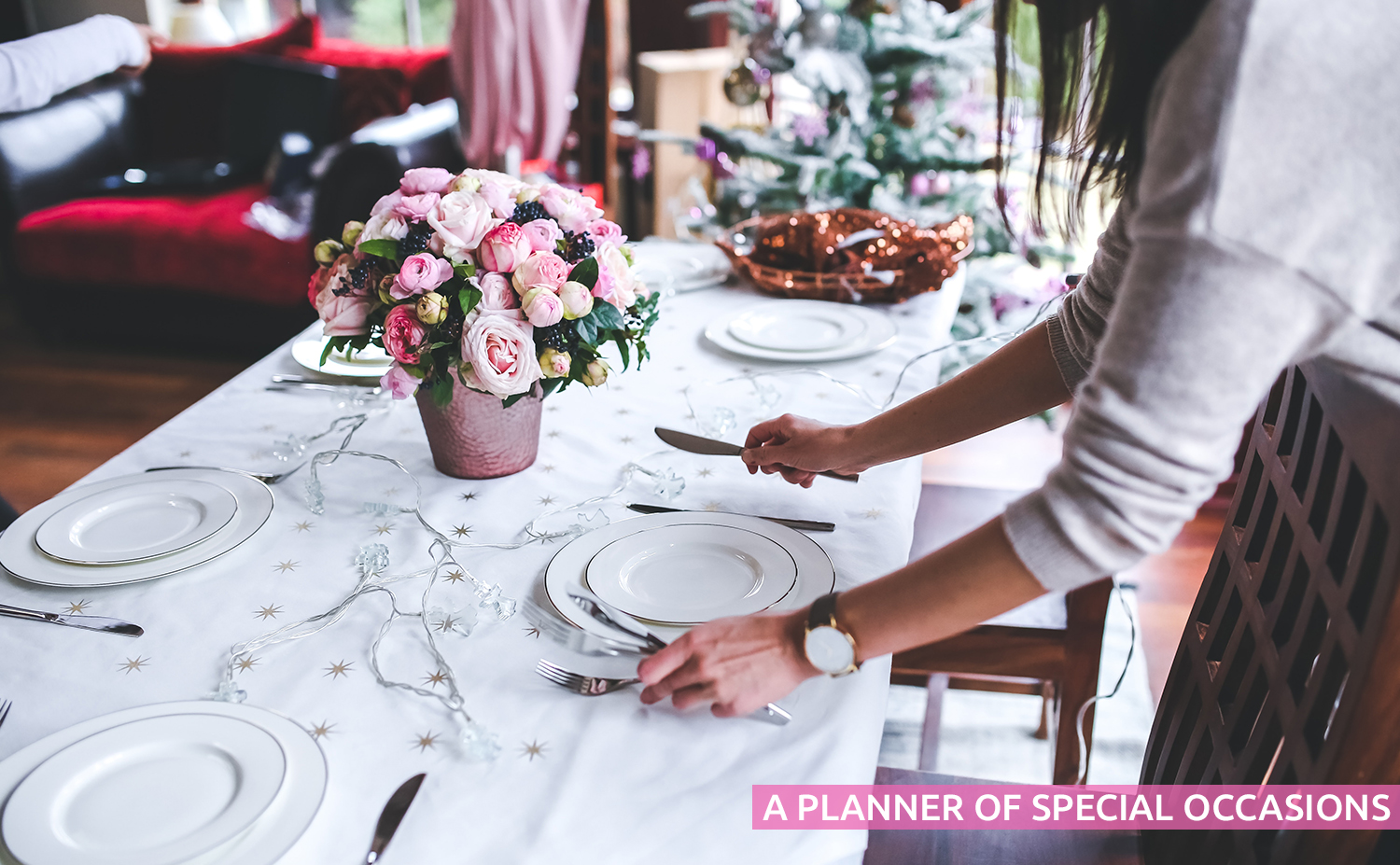 a planner of special occasions