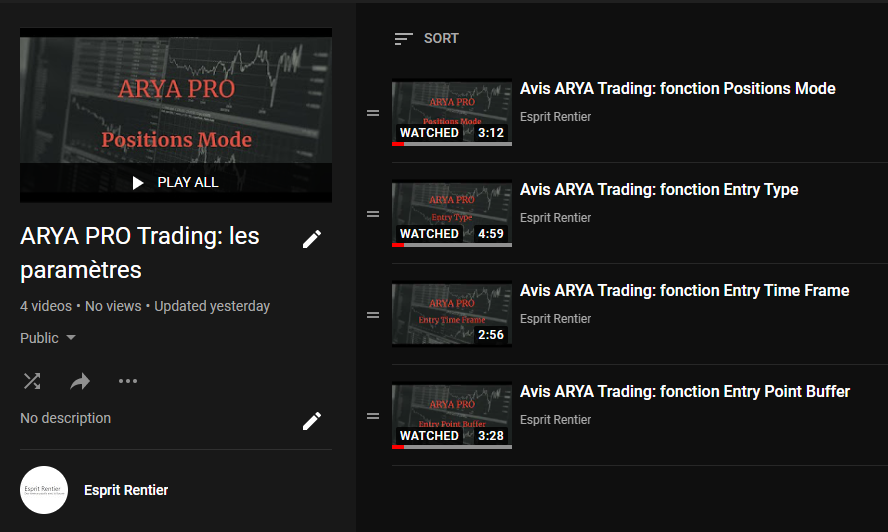 Vidéos de présentation des fonctionnalités de ARYA de Greenbull