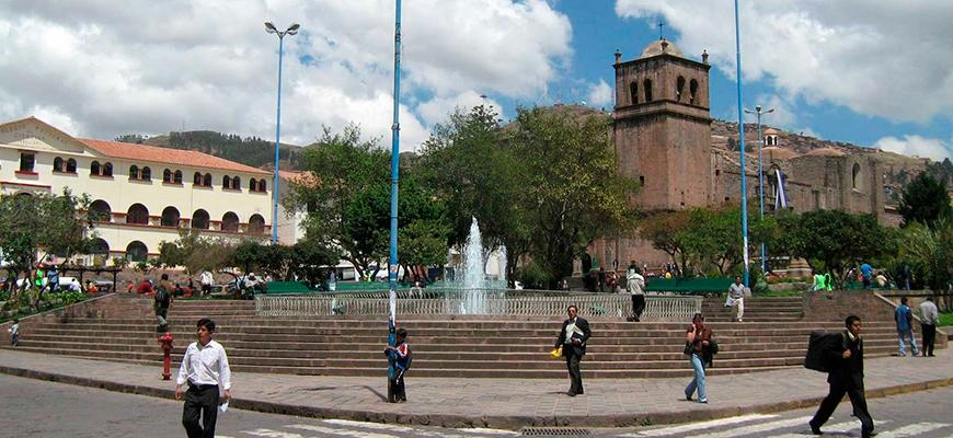 Plaza de San Francisco de Asís de Cusco