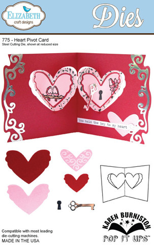 Heart Pivot Card (775)