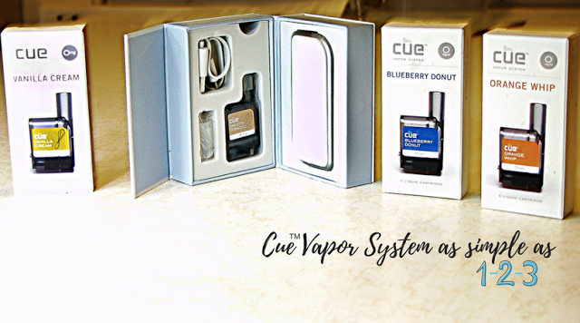 Cue Vapor System is Easy as 1-2-3  #CueTheNewYear #CueVapor #SatisfactionAtLast