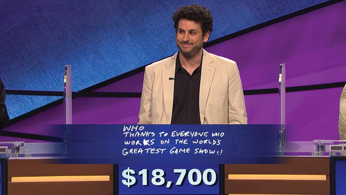 Image result for Jeopardy winner Alex Jacob