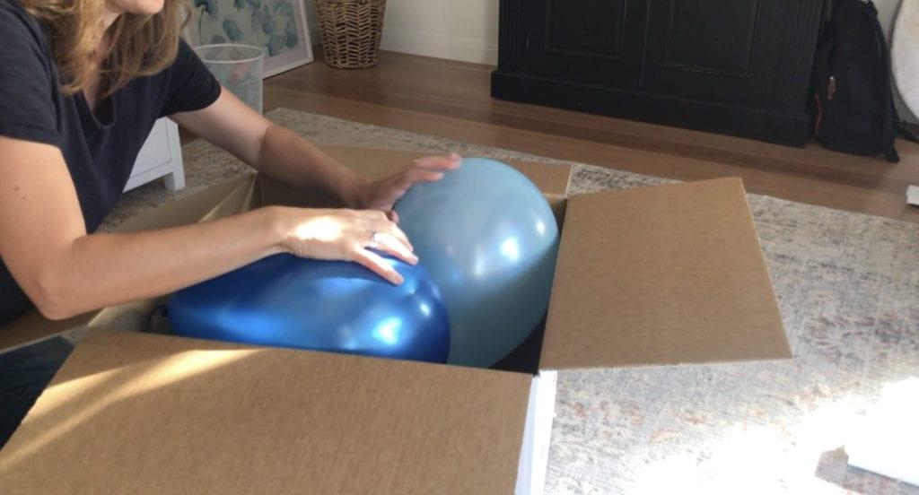 como fazer um gênero DIY revelar caixa de balão