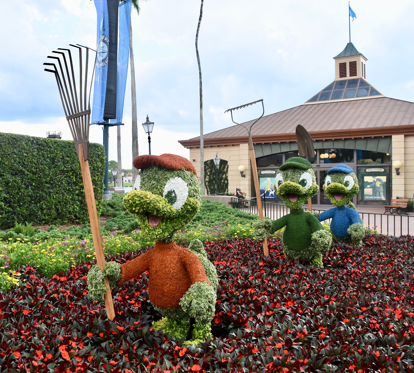 Epcot characters F & G