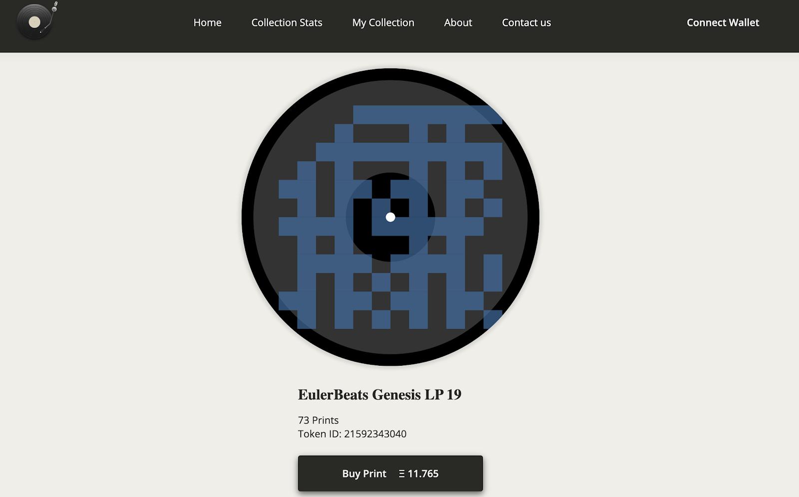 EulerBeats Genesis LP 19