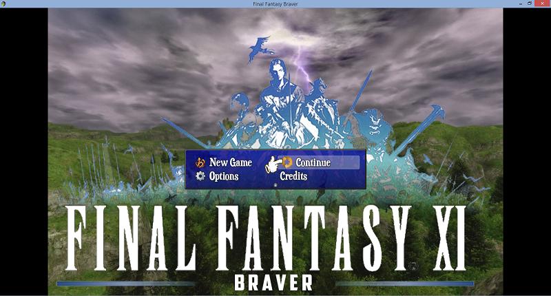 Final Fantasy XI: Braver Chapter 1 | RPG Maker Forums