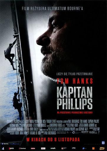 Przód ulotki filmu 'Kapitan Phillips'