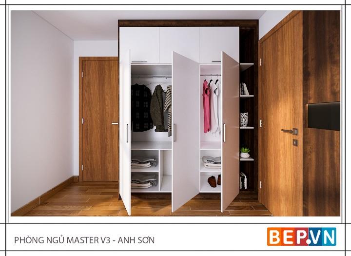 tủ quần áo acrylic bền đẹp hiện đại