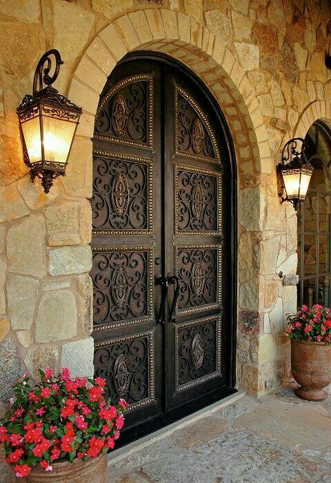 porta da frente em harmonia