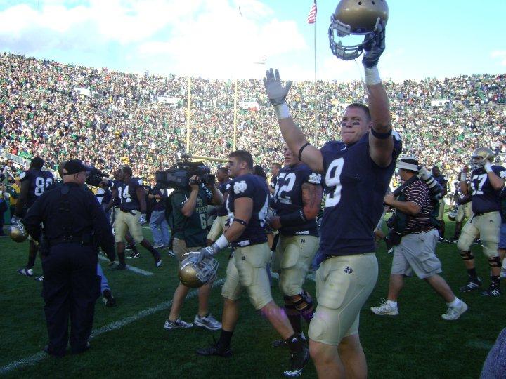 Notre Dame 3 OT win