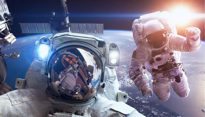 botellas de vino enviadas al espacio
