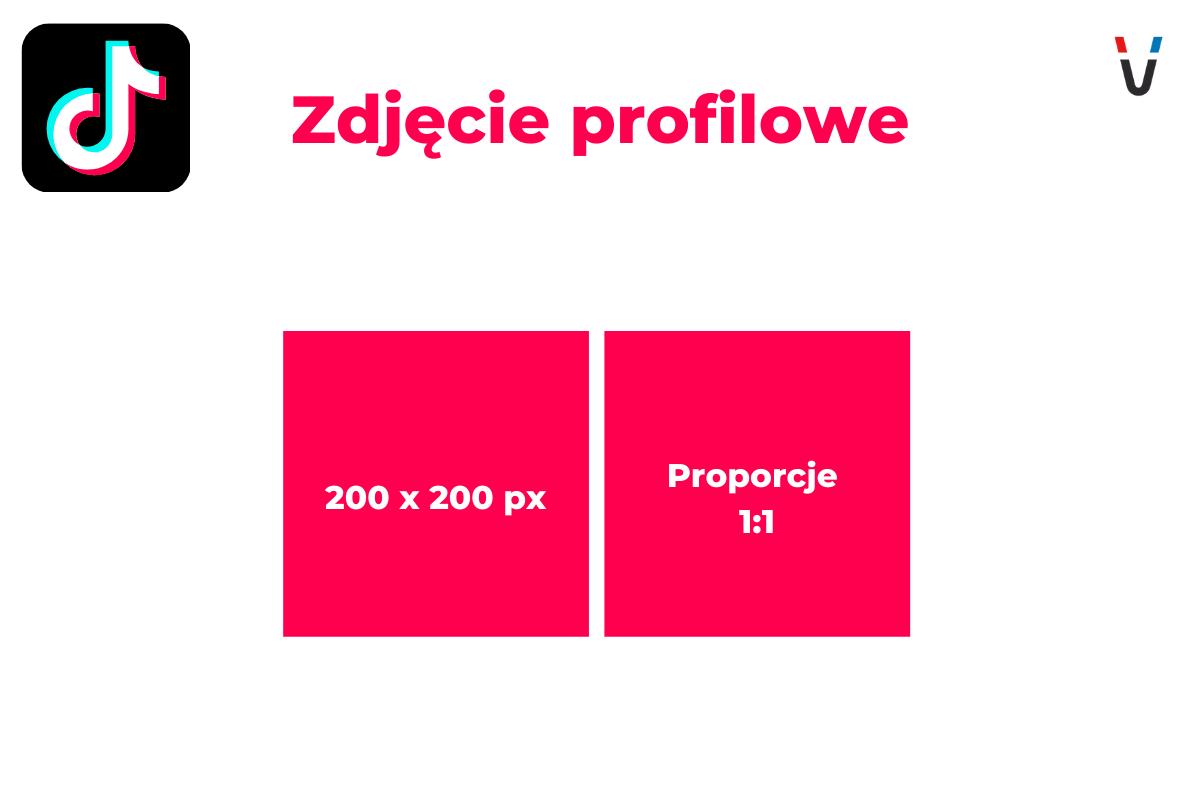 wymiary zdjęcie profilowe tiktok