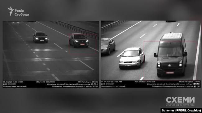 Обидва ці автомобілі були помічені влітку на трасі Київ – Одеса за допомогою системи відеофіксації через порушення – перевищення швидкості
