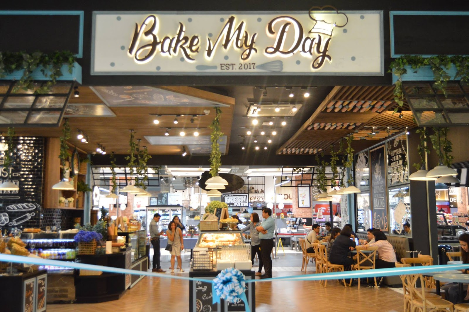 Bake My Day, your breakfast table in Vista Mall Taguig, is located at the Ground floor, near The Courtyard COHO, a preselling condo