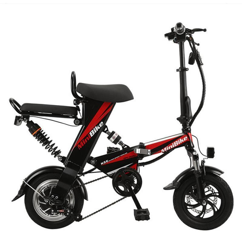 จักรยานไฟฟ้า จักรยานไฟฟ้าพับได้ จักรยานไฟฟ้าขนาดเล็ก จักรยานไฟฟ้าผู้ใหญ่  จักรยานไฟฟ้ามินิ ปั่นได้ แบตเตอรี่ลิเธียม แถมฟรี สายชาร์ตและแบตเตอร์รี่  preferential | Lazada.co.th