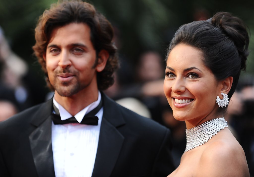 10. Hrithik Roshan and Barbara Mori