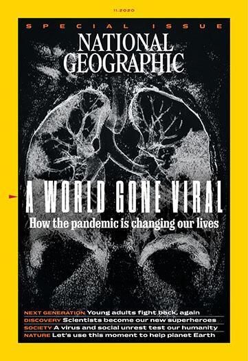 Latest issue of National Geographic Magazine