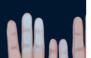 Do your hands change color from cold?  It can be a sign of a serious illness