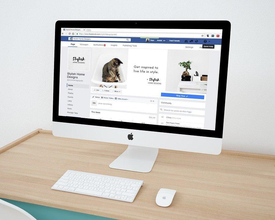 Design Web, Facebook, Página No Facebook