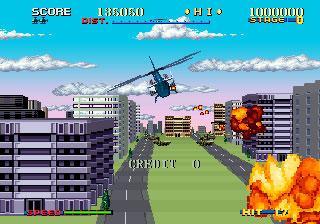 Thunder Blade - Videogame by Sega