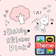Daily sticker(pink) K
