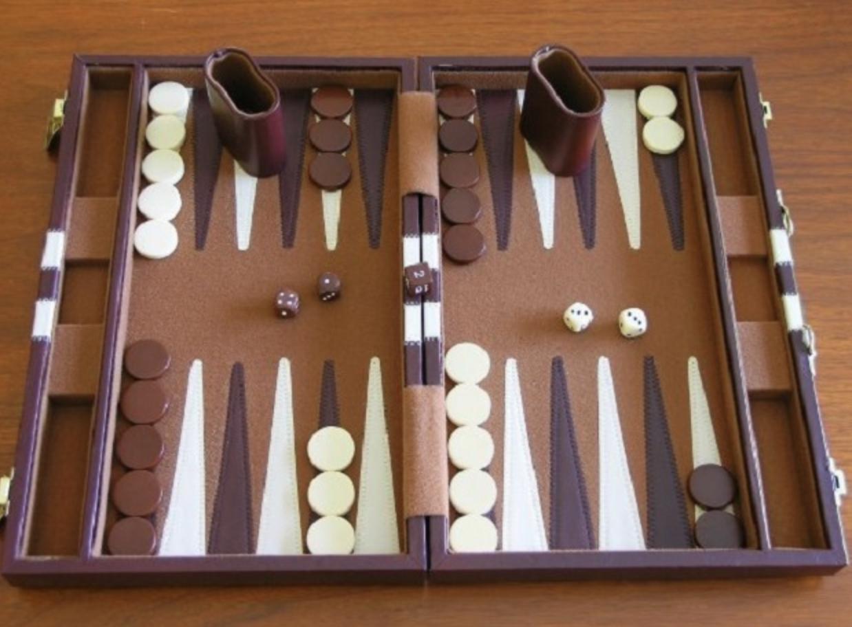 Cách chơi backgammon đơn gian