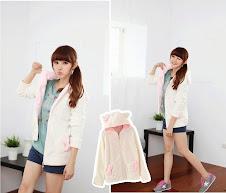 pink, hitam, putih, plain ribbon, emen polyester, polar fleece, Hoodie, hoodie korea murah, korea, murah, warna, Pre Order, fashion korea, hoodie lucu