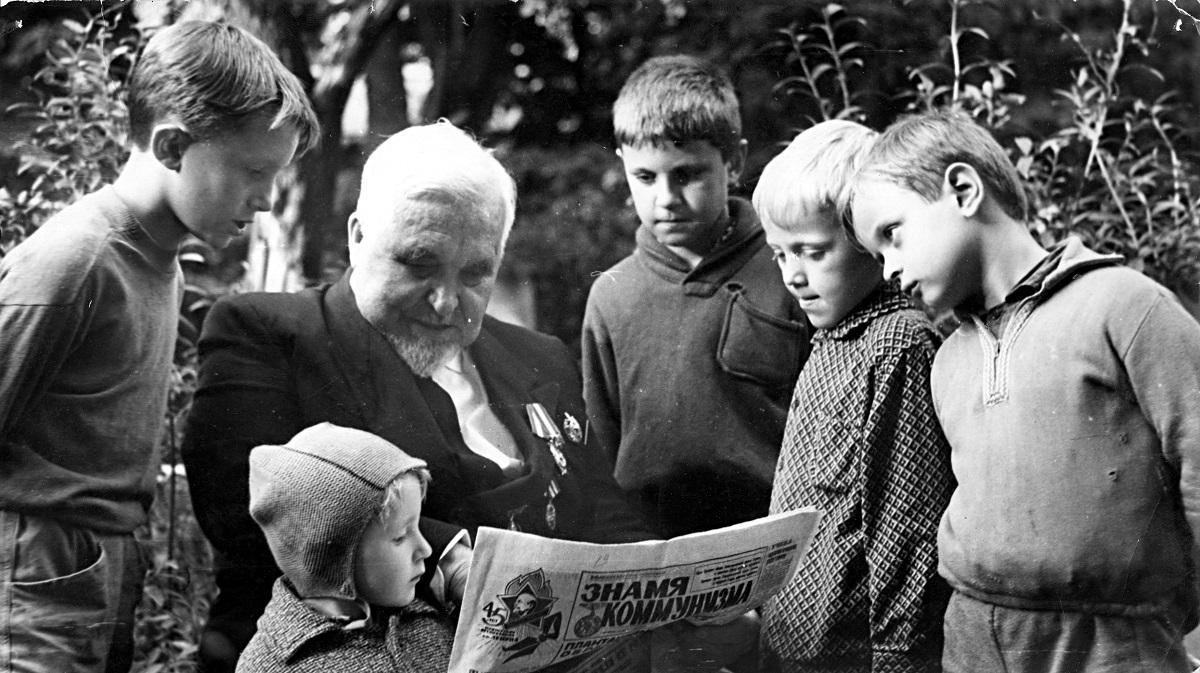 1967 рік: Судаков і після виходу на пенсію дітей виховував