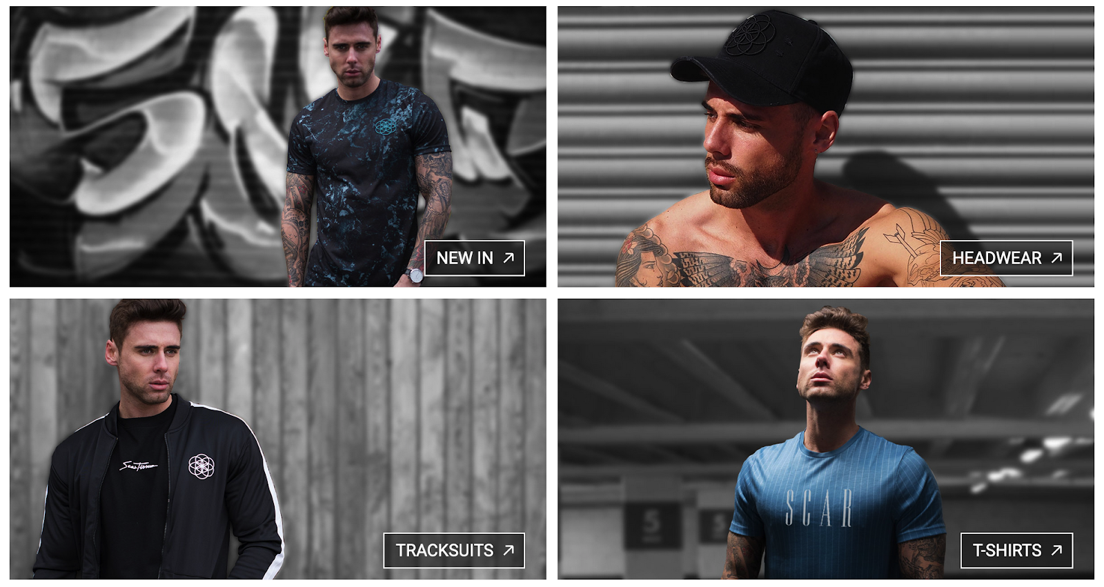 Scar Tissue Clothing | Opportunity for Mens Fashion Influencers