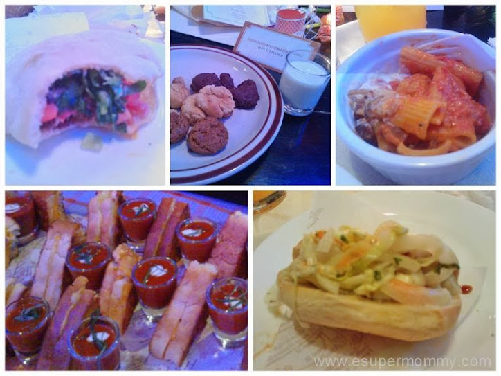 PLDT HomeBro Brunch - Foods served at at Borough in The Podium mall, Ortigas