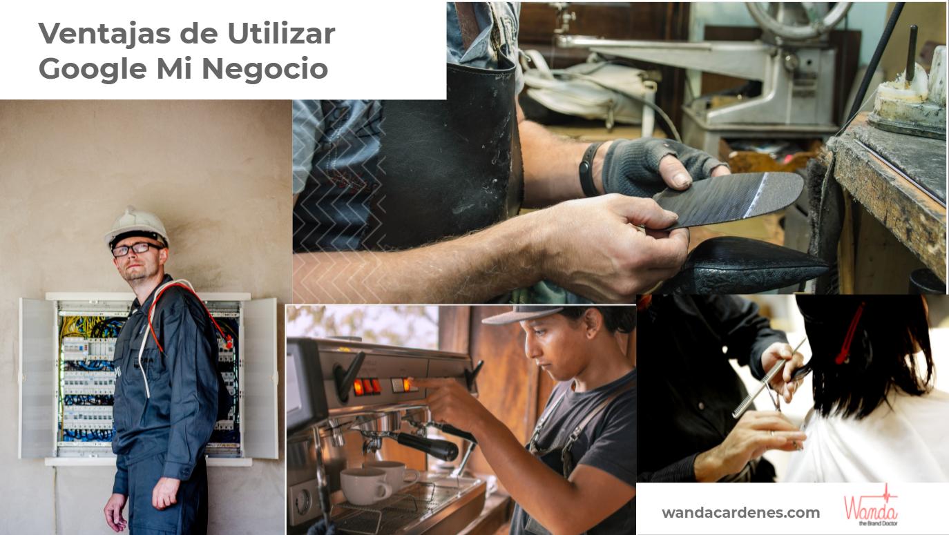 Encuentra electricista, reparador de calzados, peluquera, cafeteria con Google Mi Negocio