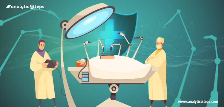 The image sheds light on how robotic surgery operates.
