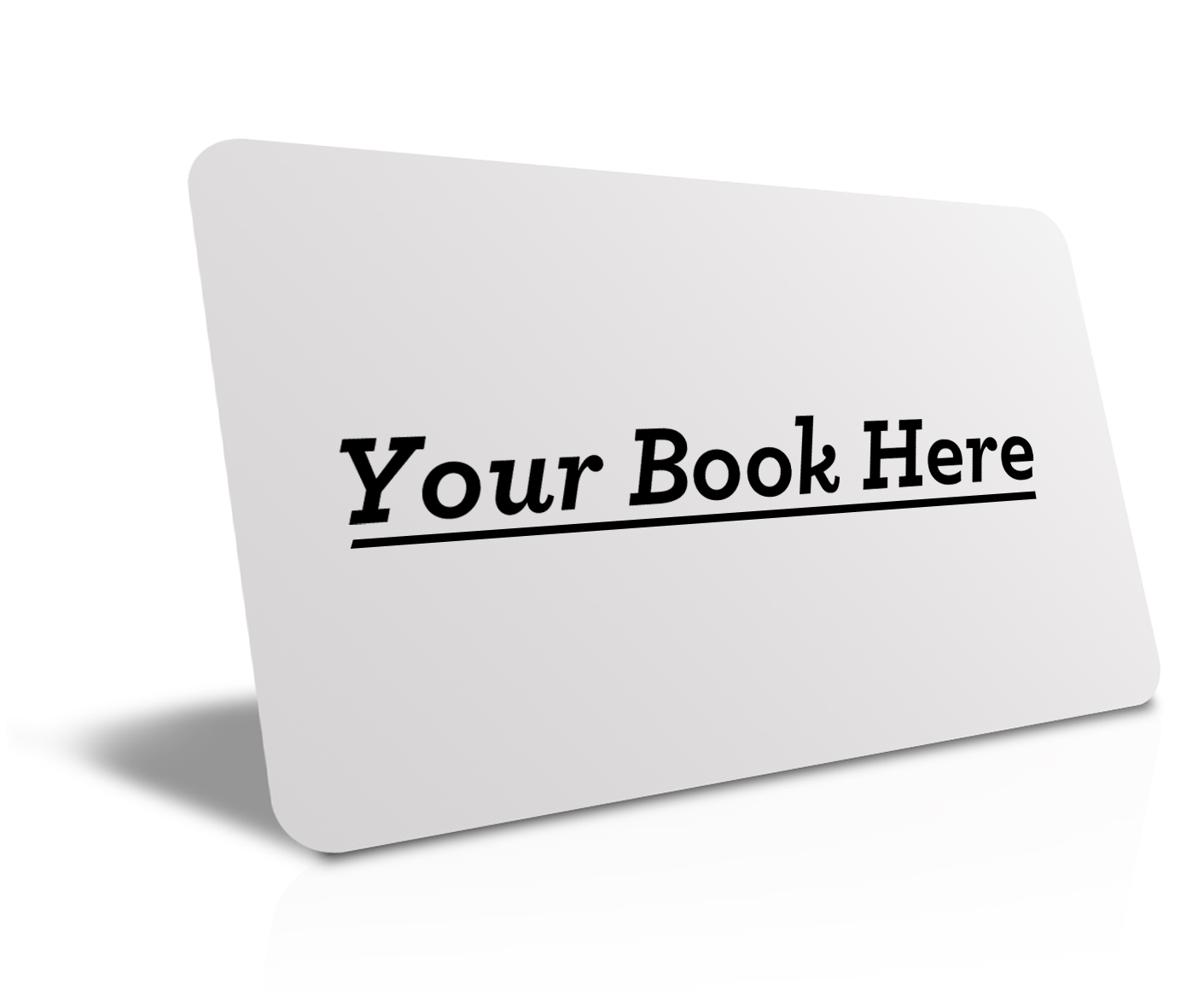 Your Book Here Business Card Design