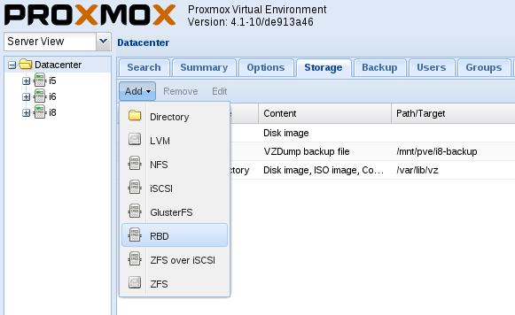 Intelligenia :: Añadir cluster de almacenamiento Ceph externo en