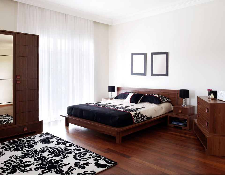 Inspirasi desain kamar tidur kontemporer bernuansa alami - source: thespruce.com